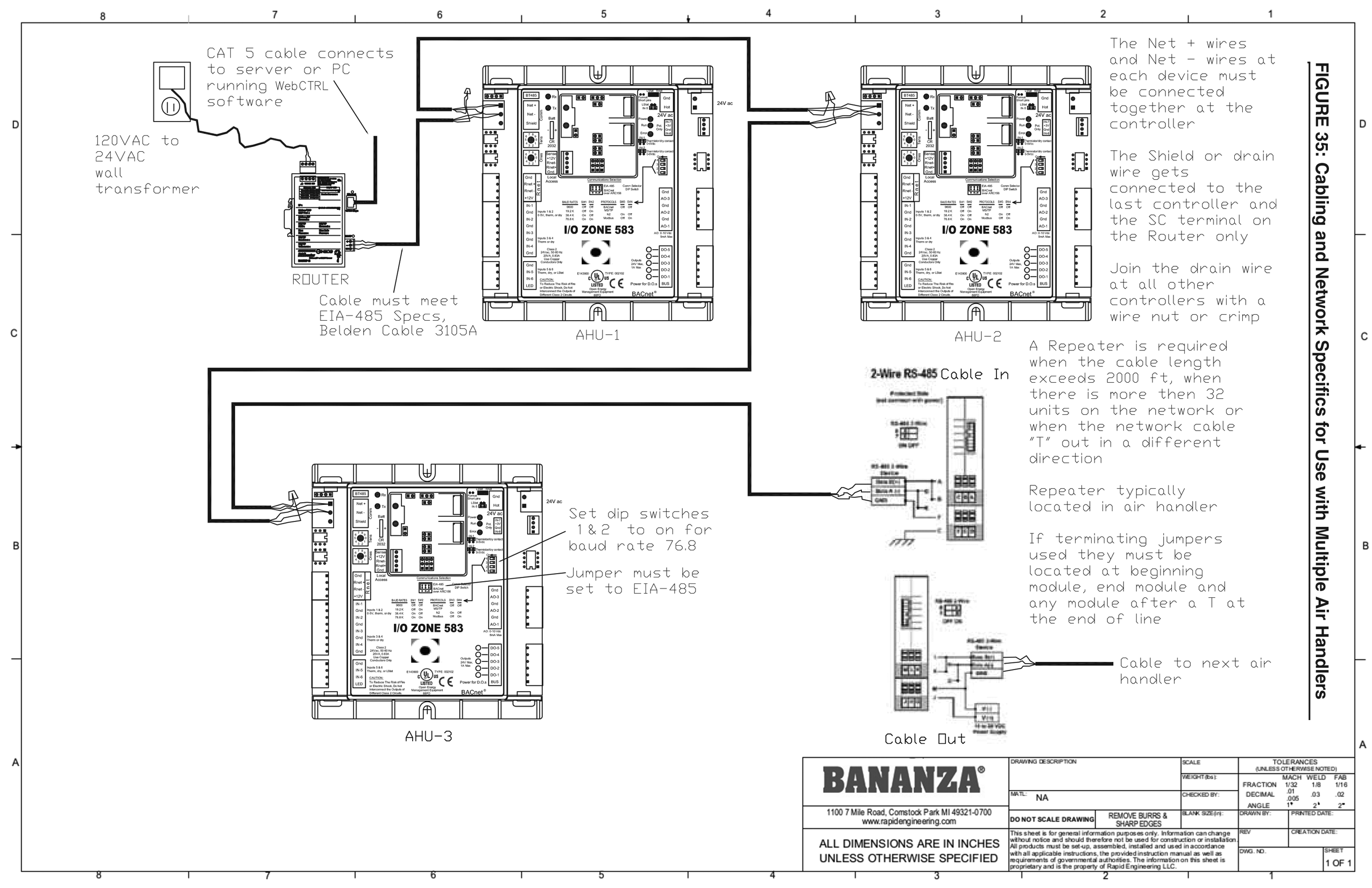 Direct Fired Submittal Drawings From Bananza Ac Wall Schematic Wiring Ddc Diagram 4